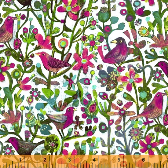 Alfie Jolly Robins Fuchsia - 52299/D1