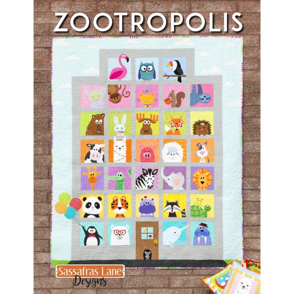 Quiltpatroon - Zootropolis