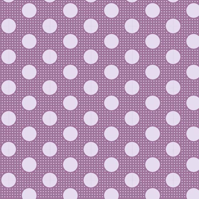 Medium Dots Lilac - 130009
