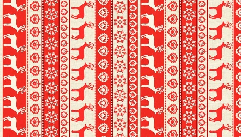 Scandi Stripe - Red 1478R