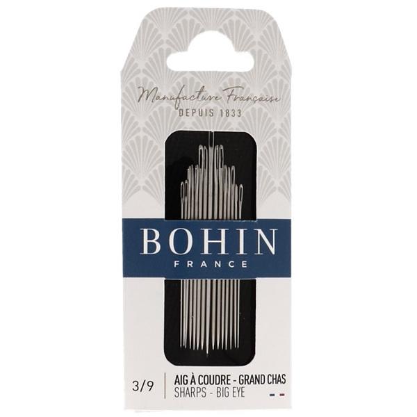 Bohin sharps naalden Big Eye -  maat 3/9