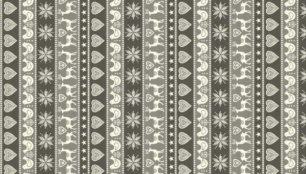 Scandi Border Grey - 1964/S