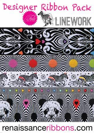 Tula Pink Linework - Ribbon Pack