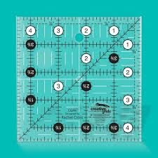 Creative Grids Quilt ruler 4,5 x 4,5 inch  - CGR4