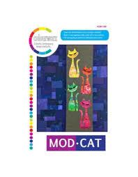 Quiltpatroon - Mod Cat