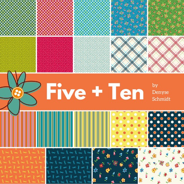 Jelly Roll Windham Fabris  - Five + Ten