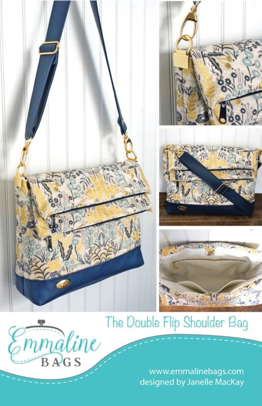 Emmaline Bags - Double Flips Shoulder Bag