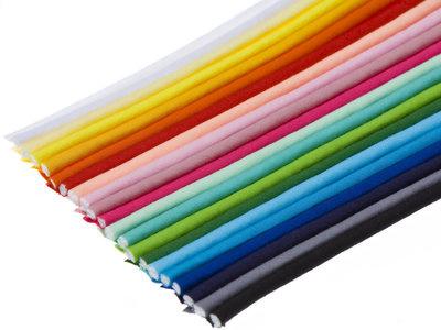 Paspelband 2 mm - diverse kleuren