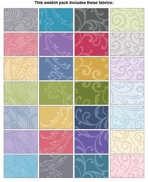Jelly Roll  Benartex - Classic Scrolls & Blenders