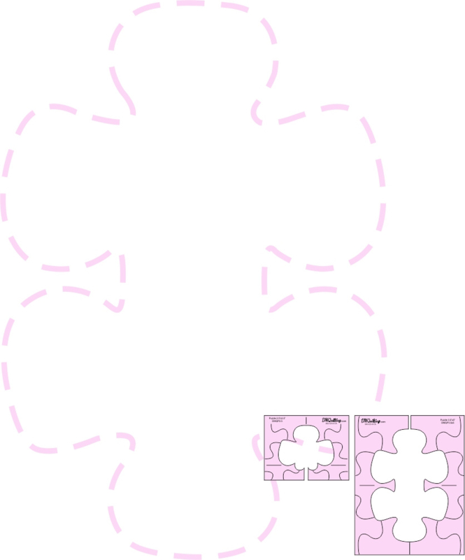 DMQuilting  Template  - Puzzle Template