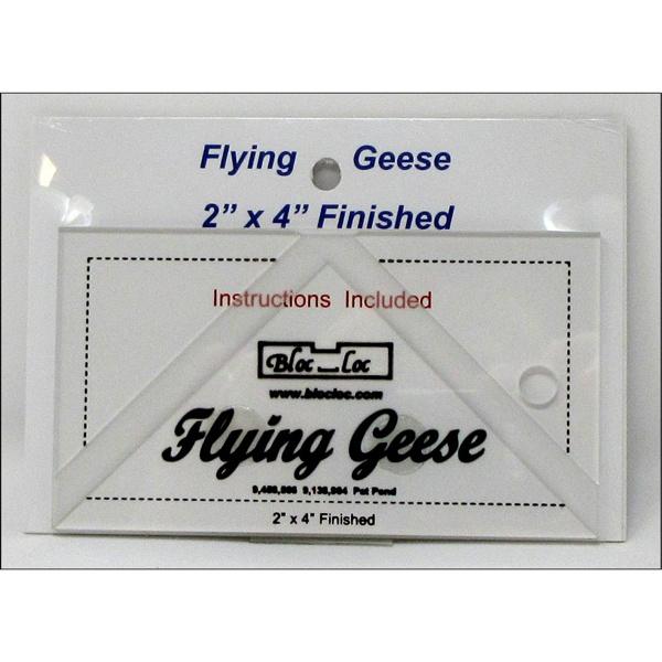 Bloc-Loc linialen - Flying Geese 2 x 4 inch