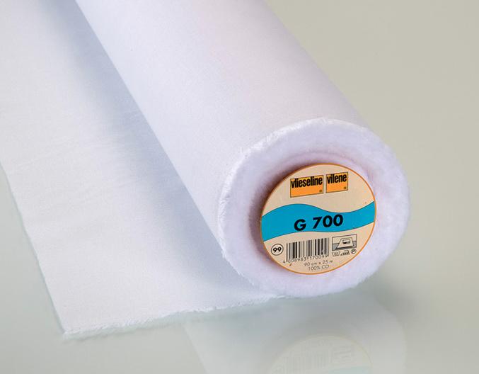 Vlieseline G700 - opstrijkbare katoenen versteviging