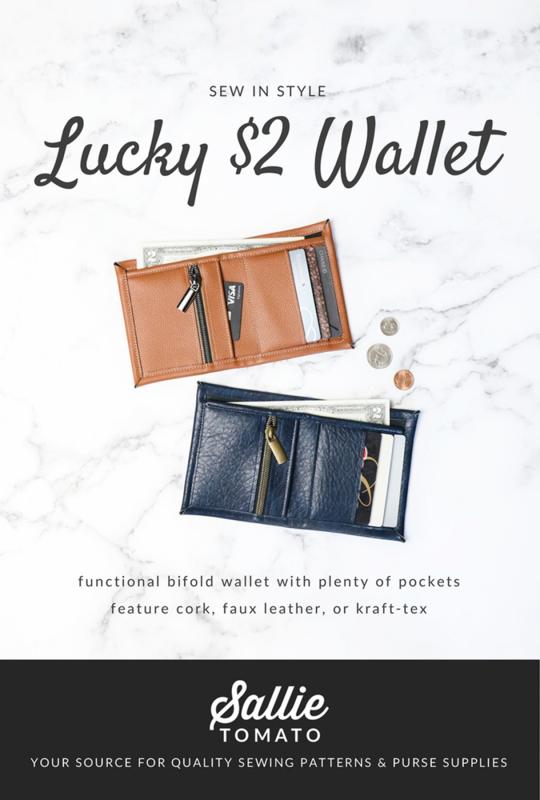 Sallie Tomato - Lucky 2 dollar Wallet