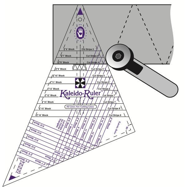 Marti Michell - Kaleido Ruler 6-16 inch