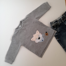 CHIZ-CHIC | Sweater Vos applicatie