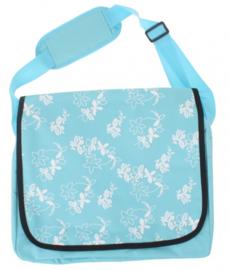 Kinderfietstas lichtblauw