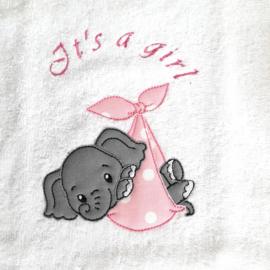 Geboortekoffertje Baby girl