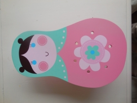 Leuke Baboesjka lamp voor de kinderkamer Nino&ideas