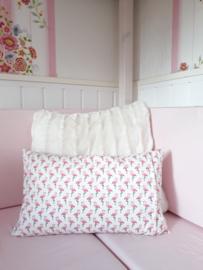 CHIZ-CHIC   Geboortekussen Flamingo