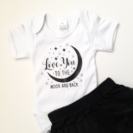 CHIZ-CHIC | Romper I love you to the Moon and Back