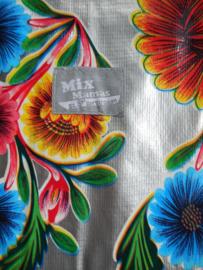 MixMamas aankleedkussen hoes Floral zilver