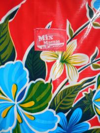 MixMamas aankleedkussen hoes Fortin rood