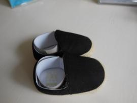 Zwart baby schoentje