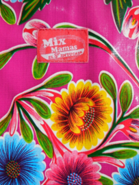 MixMamas aankleedkussen hoes Floral Fuchsia
