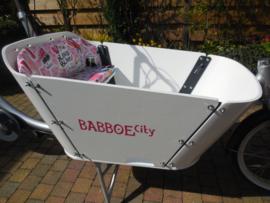Babboe City sticker set
