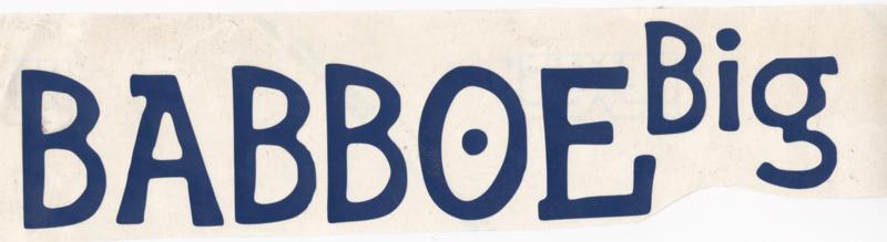 Babboe Big sticker set