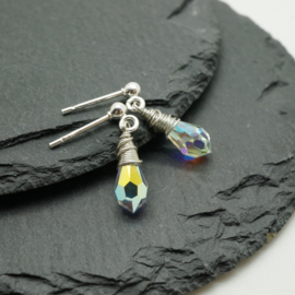 Swarovski kristal oorhangers