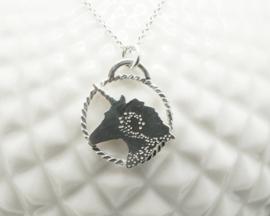 Eenhoorn collier