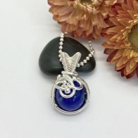 Hanger met Lapis Lazuli