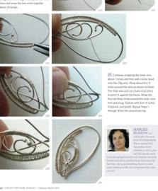 Step by step wire jewelry magazine