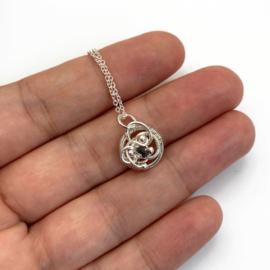 April ketting met Diamant