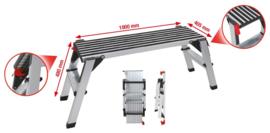 veiligheidsplateau / opstap aluminium