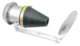 Verdeelblad, Ø 240 mm, verzinkt