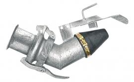 Mengmestverdeler Ø 159 mm, verzinkt, EXAKT (Perrot)