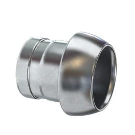 V-deel met slangtule, binnendiameter Ø 50 - 108 mm