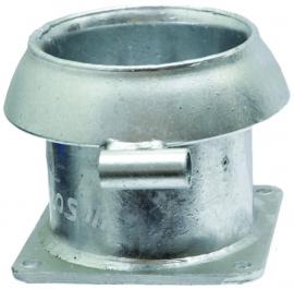 V-deel met oog, Ø 159 mm, verzinkt, (Perrot)