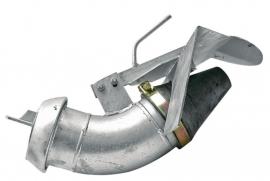 Kotte mengmestverdeler Ø 159 mm, V-deel, EXAKT (Perrot)