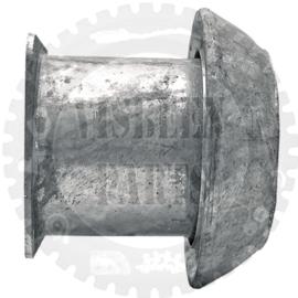 V-deel met flens Ø 216 mm, verzinkt