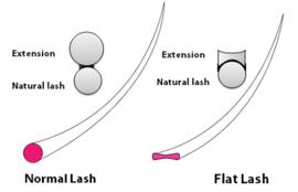 Diva lashes Flat