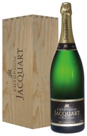Champagne Jacquart brut Mosaique (jeroboam in geschenkkist)