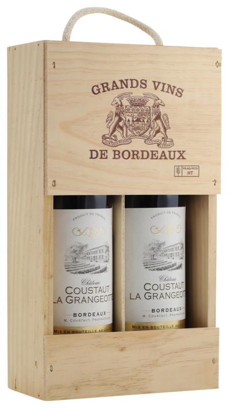 Bordeaux Sélection Vins Médaillés (in 2-vaks kist)