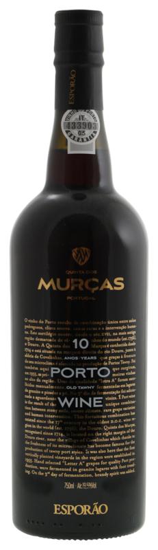 Quinta dos Murças 10 years old tawny port