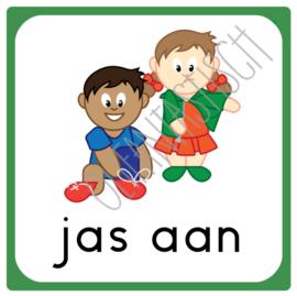 Jas aan | Dagplanning school