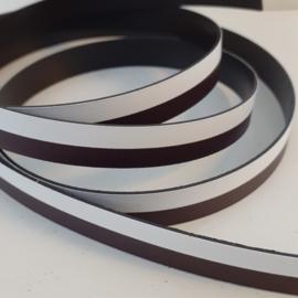 Magneetstrip zwart/wit (1 meter)