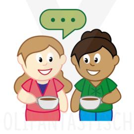 Er op uit | Visite/koffie drinken