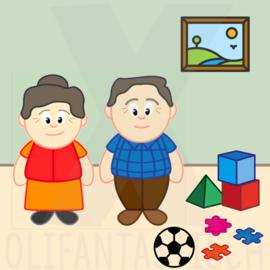 Activiteiten | Spelen bij opa en oma